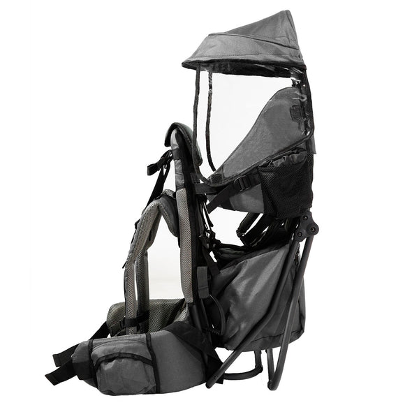ClevrPlus Hiking Child Carrier Backpack Cross Country, Grey (CL_CRS600213) - Alt Image 2