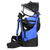 ClevrPlus Deluxe Lightweight Baby Backpack Child Carrier, Blue (CL_CRS600221) - Alt Image 3