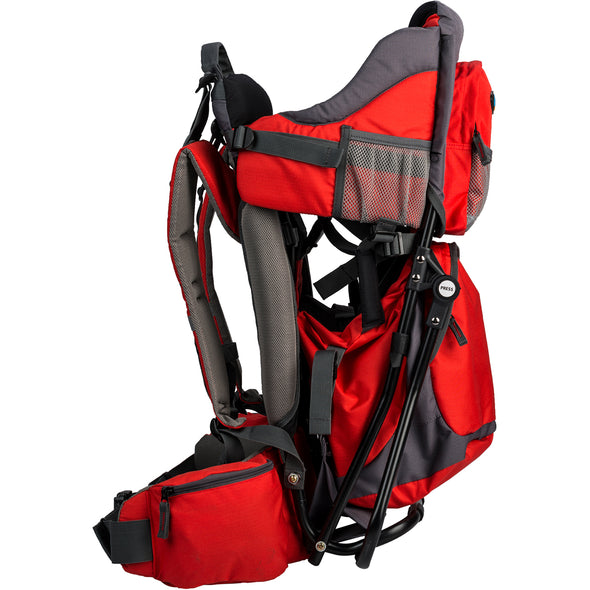 ClevrPlus Baby Backpack Hiking Child Carrier, Red (CL_CRS600232) - Alt Image 2
