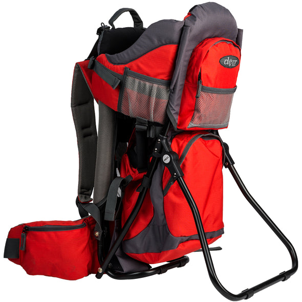 ClevrPlus Baby Backpack Hiking Child Carrier, Red (CL_CRS600232) - Main Image