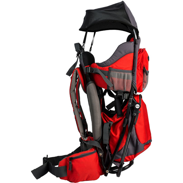 ClevrPlus Baby Backpack Hiking Child Carrier, Red (CL_CRS600232) - Alt Image 4