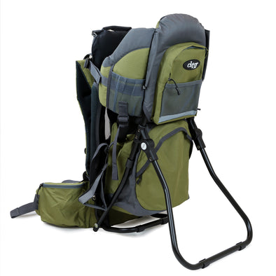 ClevrPlus Baby Backpack Hiking Child Carrier, Army Green (CL_CRS600234) - Main Image