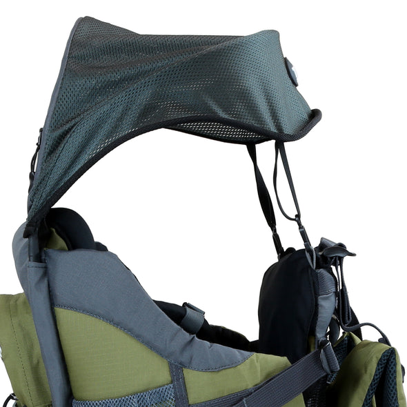 ClevrPlus Baby Backpack Hiking Child Carrier, Army Green (CL_CRS600234) - Alt Image 4