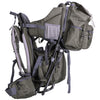 ClevrPlus Urban Explorer Baby Backpack Cross Country Child Carrier with Detachable Bag, Green (CL_CRS600241) - Alt Image 9