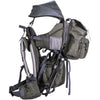 ClevrPlus Urban Explorer Baby Backpack Cross Country Child Carrier with Detachable Bag, Green (CL_CRS600241) - Alt Image 3