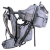 ClevrPlus Urban Explorer Baby Backpack Cross Country Child Carrier with Detachable Bag, Gray (CL_CRS600242) - Alt Image 8