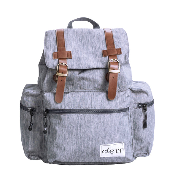 ClevrPlus Urban Explorer Baby Backpack Cross Country Child Carrier with Detachable Bag, Gray (CL_CRS600242) - Alt Image 7