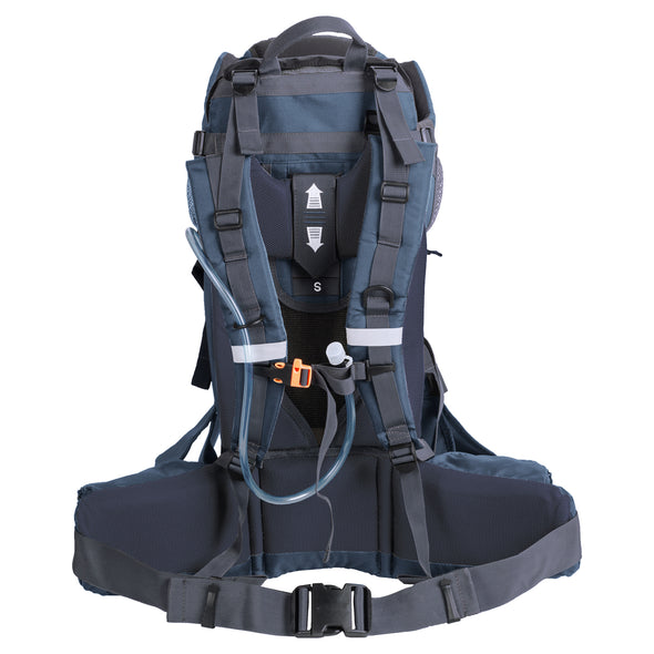 ClevrPlus Urban Explorer Baby Backpack Cross Country Child Carrier with Detachable Bag, Blue (CL_CRS600243) - Alt Image 3