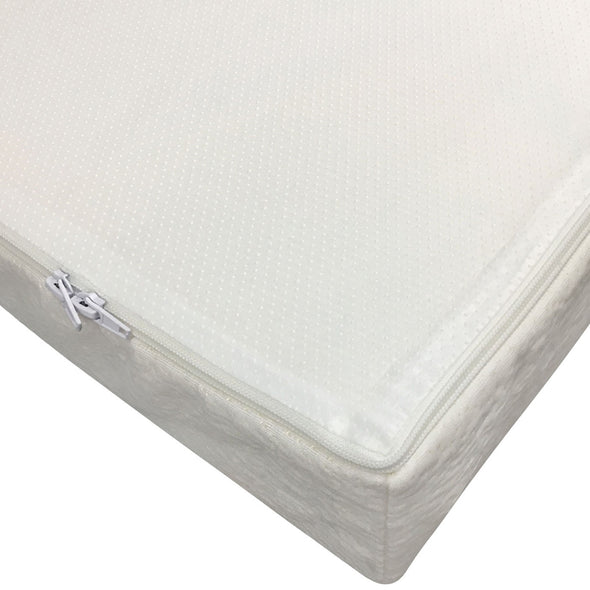 Clevr White Waterproof Baby & Toddler Bamboo Fabric Memory Foam Crib Mattress (CL_CRS601301) - Alt Image 5