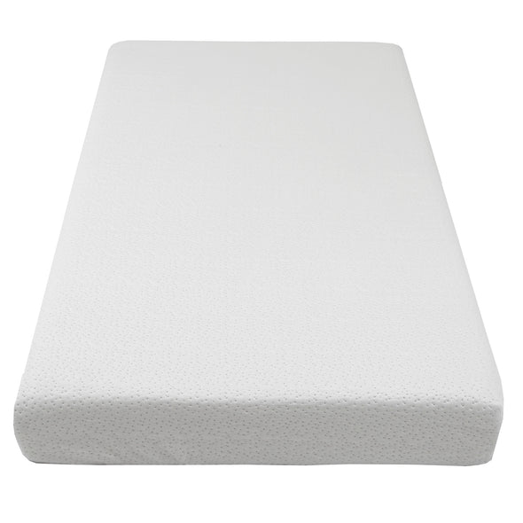 Clevr White Waterproof Baby & Toddler Bamboo Fabric Memory Foam Crib Mattress (CL_CRS601301) - Alt Image 4