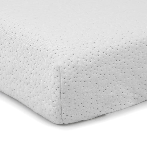 Clevr White Waterproof Baby & Toddler Bamboo Fabric Memory Foam Crib Mattress (CL_CRS601301) - Alt Image 3