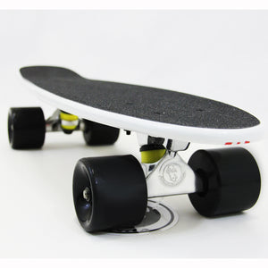 "[product_tag] , White Fish Skateboard Wood Maple 22"" Retro 70's Urban Cruiser - Crosslinks"