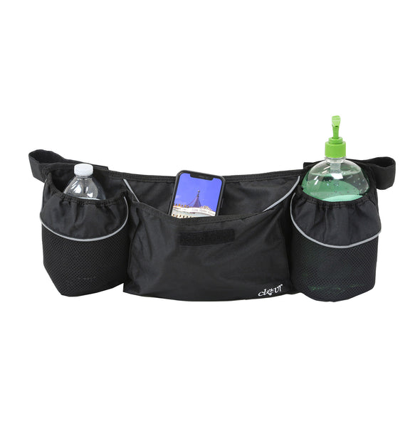 Clevr Bike Trailer Storage Cup Holder Bag Black (CL_CRS802609) - Main Image