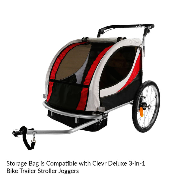 Clevr Bike Trailer Storage Cup Holder Bag Black (CL_CRS802609) - Alt Image 3