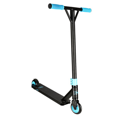 Xspec Matte Black Aluminum Outdoor Sports Pro Stunt Kick Scooter Teal HIC (CL_CRS803932) - Main Image