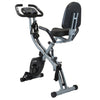 Xspec Recumbent Upright Foldable Exercise Bike with Resistance Bands, Black (CL_CRS804704) - Main Image