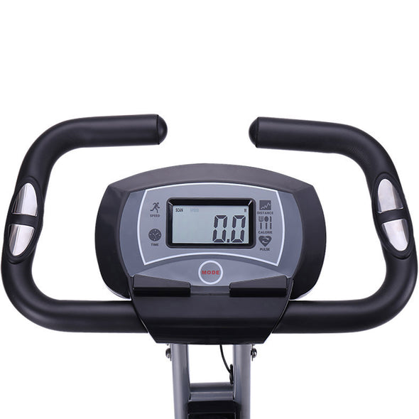 Xspec Recumbent Upright Foldable Exercise Bike with Resistance Bands, Black (CL_CRS804704) - Alt Image 5