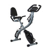 Xspec Recumbent Upright Foldable Exercise Bike with Resistance Bands, Black (CL_CRS804704) - Alt Image 8