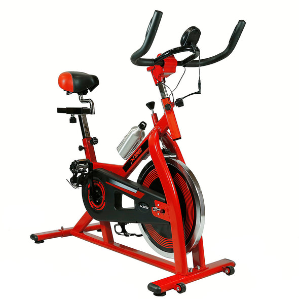 Xspec Pro Stationary Upright Exercise Bike Cardio Indoor Cycling Bicycle (CL_CRS804801) - Main Image