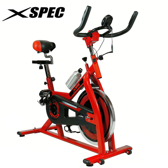 Xspec Pro Stationary Upright Exercise Bike Cardio Indoor Cycling Bicycle (CL_CRS804801) - Alt Image 1