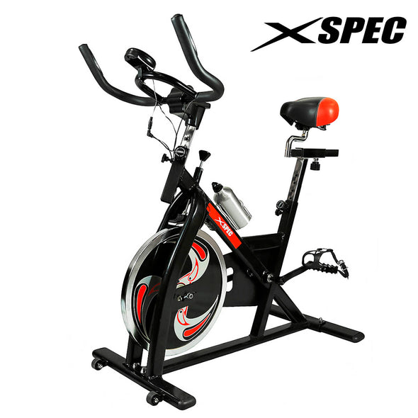 Xspec Pro Stationary Exercise Bike Cardio Indoor Cycling Bicylce (CL_CRS804802) - Alt Image 1