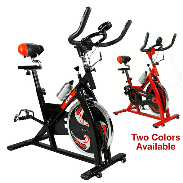 Xspec Pro Stationary Exercise Bike Cardio Indoor Cycling Bicylce (CL_CRS804802) - Alt Image 6