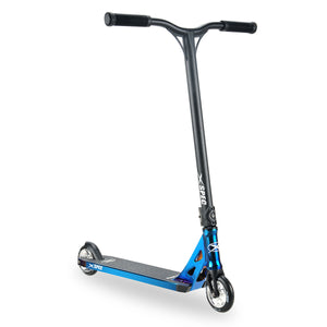 [product_tag] , Xspec Blue Neo Chrome Pro Stunt Kids Kick Scooter Anodized Aluminum BMX - Crosslinks