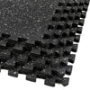 "Xspec 1/2"" Thick 48 Sq Ft Rubber Top EVA Foam Gym Mats 12 pcs, Black (CL_CRS804931) - Main Image"