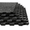 "Xspec 1/2"" Thick 48 Sq Ft Rubber Top EVA Foam Gym Mats 12 pcs, Black (CL_CRS804931) - Alt Image 2"