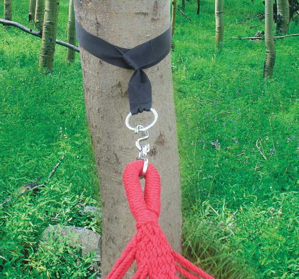 "Clevr 10 Ft 2"" Wide Hammock Tree Straps Kit for Chairs Swings (CL_CRS805014) - Main Image"