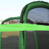 Clevr 7 Ft. Trampoline Bounce Jump Safety Enclosure Net W/ Spring Pad Round (CL_CRS805404) - Alt Image 7