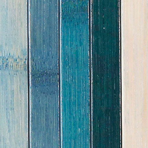 Venice Natural Bamboo 5' X 8' Floor Mat, Blue/Green Area Rug Indoor Carpet (CL_CRS503405) - Alt Image 7