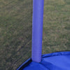 Clevr 7 Ft. Trampoline Bounce Jump Safety Enclosure Net W/ Spring Pad Blue (CL_CRS805407) - Alt Image 4