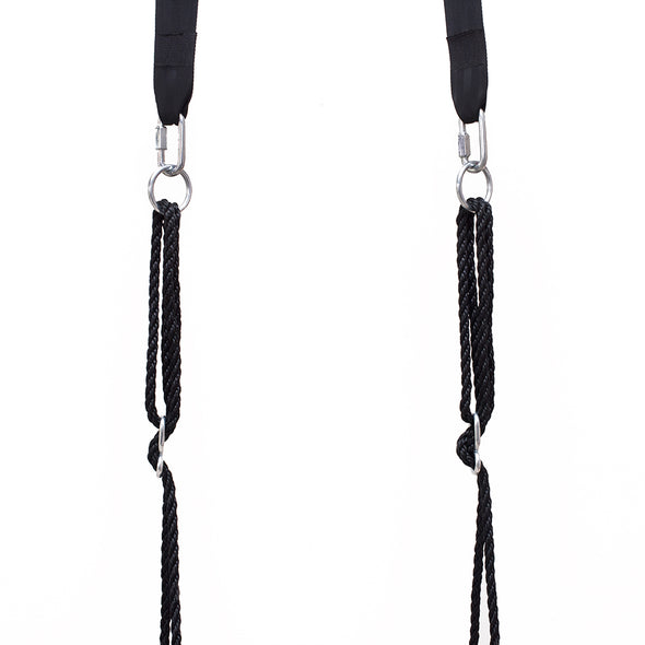 "Clevr 40"" Tire Web Swing 71"" Nylon Rope Upgraded with Swivel Hanging Hardware (CL_CRS805803-upgraded) - Alt Image 5"