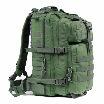 Qwest 30L Outdoor Tactical Military Style Gear Pack Backpack, Army Green (CL_CRS806001) - Main Image