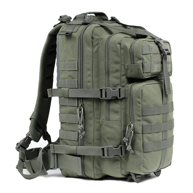 Qwest 30L Outdoor Tactical Military Style Gear Pack Backpack, Drab Green (CL_CRS806002) - Main Image