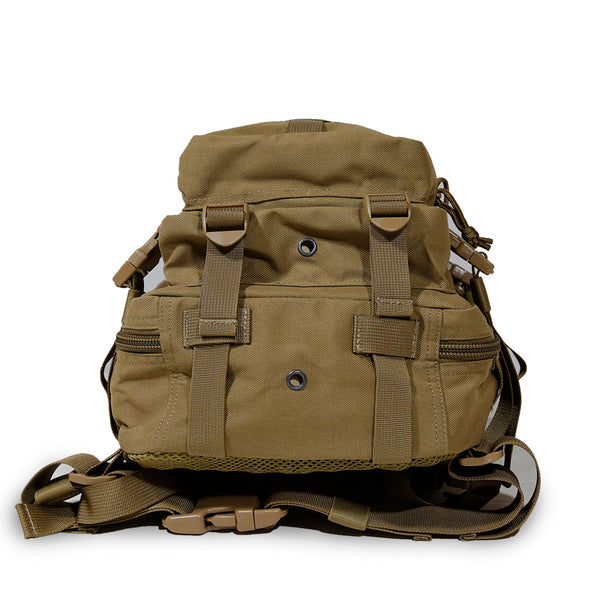 Qwest 30L Outdoor Tactical Military Style Gear Pack Backpack, Brown (CL_CRS806003) - Alt Image 4