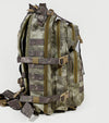 Qwest 30L Outdoor Tactical Military Style Gear Pack Backpack, A-Tac Cammo (CL_CRS806004) - Alt Image 6