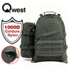 Qwest 42L Outdoor Tactical Military Style Gear Pack Backpack + Bonus 10 L Bag, Drab Green (CL_CRS806006) - Alt Image 1