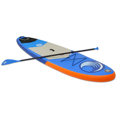 "Xspec Inflatable Stand Up Paddle Board 10'x32""x6"", Blue & Orange (CL_CRS806301) - Main Image"