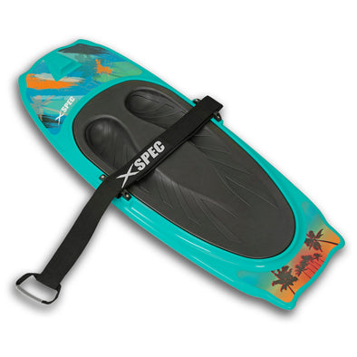 Xspec Kneeboard for Knee Surfing Boating Waterboarding, Aqua (CL_CRS806401) - Main Image