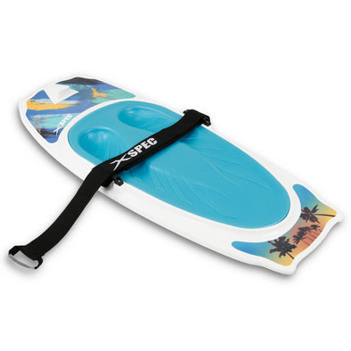 Xspec Kneeboard for Knee Surfing Boating Waterboarding, White (CL_CRS806403) - Main Image