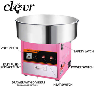 Clevr Commercial Cotton Candy Machine (CL_CRS201704) - Main Image