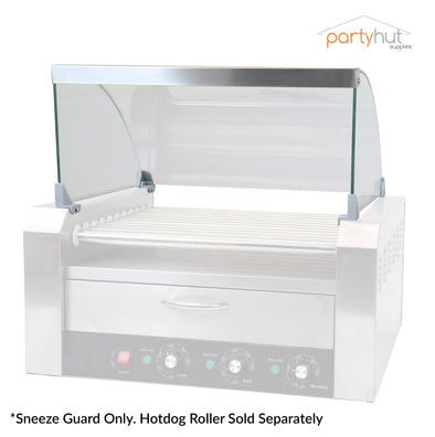 PartyHut Hotdog Roller Sneeze Guard for 11 Roller Commercial Machine (Clear Cover Only) (CL_CRS201719) - Main Image