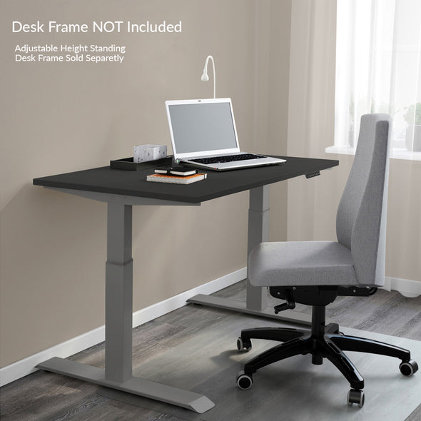 "AdvanceUp 53"" Ergonomic Stand Up Desk Table Top Only, Black (CL_CRS202321) - Alt Image 2"