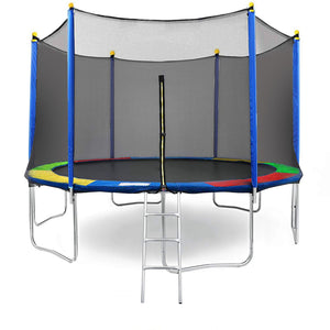 [product_tag] , Clevr 15' Trampoline Bounce Jump Safety Enclosure Net Spring Pad Round 15ft - Crosslinks