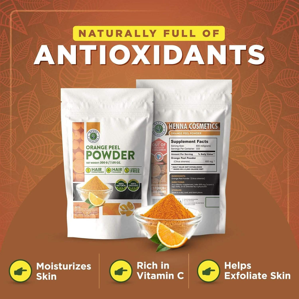 Orange Peel Powder For Hair And Skin Care 200 Grams 7 05 Ounces How big is 200 grams? orange peel powder for hair and skin care 200 grams 7 05 ounces 100 natural pure organic herbal supplement henna cosmetics