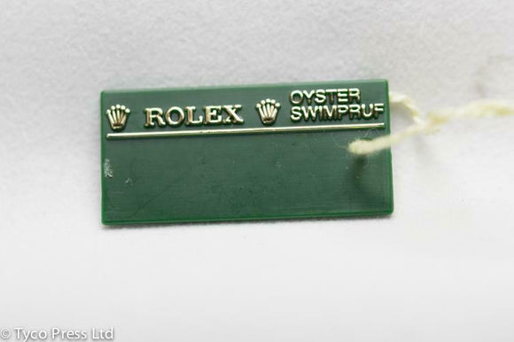 Rolex Green Explorer II 16570 Swing Tag - Z Serial - 2006 / 2007