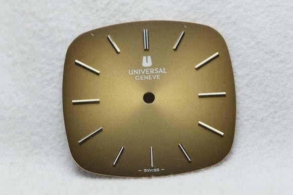 Universal Geneve Bronze / Brown Dial - W 26mm x H 24mm New Old Stock