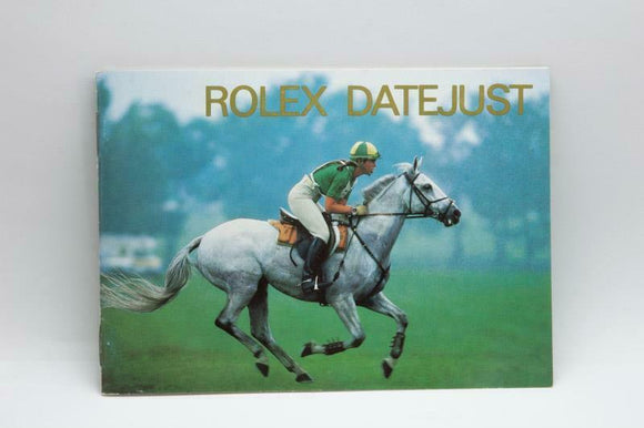 Rolex Datejust Manual English 1995 Reference 593.52 Eng 200 5.1995